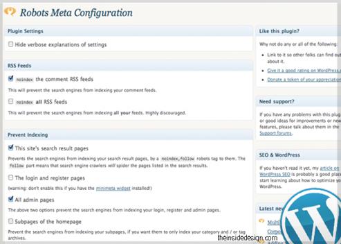 Meta-Robots-WordPress-plugin
